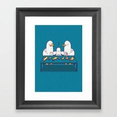 Chose your beak Framed Art Print