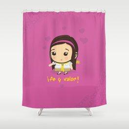 Conquistadora Shower Curtain