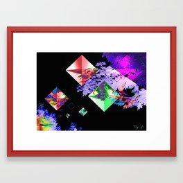 Diamonds of Nature Framed Art Print