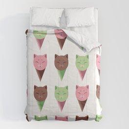 Icecream Cats Comforters