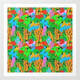 Jungle Groove Art Print
