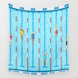 SWIMMERS Wall Tapestry
