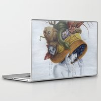 hat Laptop & iPad Skins featuring Hat by Veronica Casas
