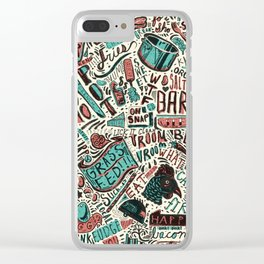 ChiliPot Pattern 2 Clear iPhone Case