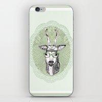 hippie iPhone & iPod Skins featuring Hippie Deer! by Sagara Hirsch