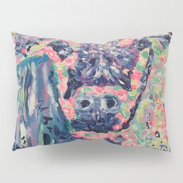 Moo-ve over winter- Cow Pillow Sham