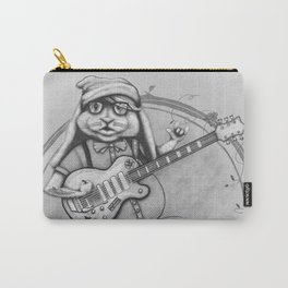 Joyful Noise -- Black and White Variant Carry-All Pouch