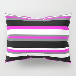 Stripes Pattern: Pink Pillow Sham