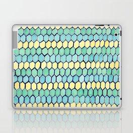 Watercolour Honeycomb Tank Top Laptop & iPad Skin