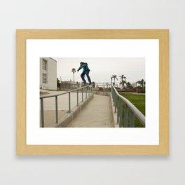 Zander Gabriel. Rail Crook Framed Art Print
