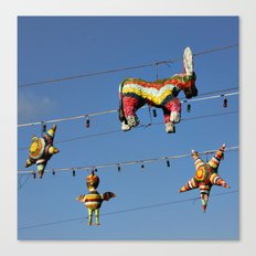 Pretty Piñatas Canvas Print