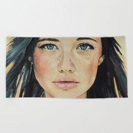 Amber Beach Towel