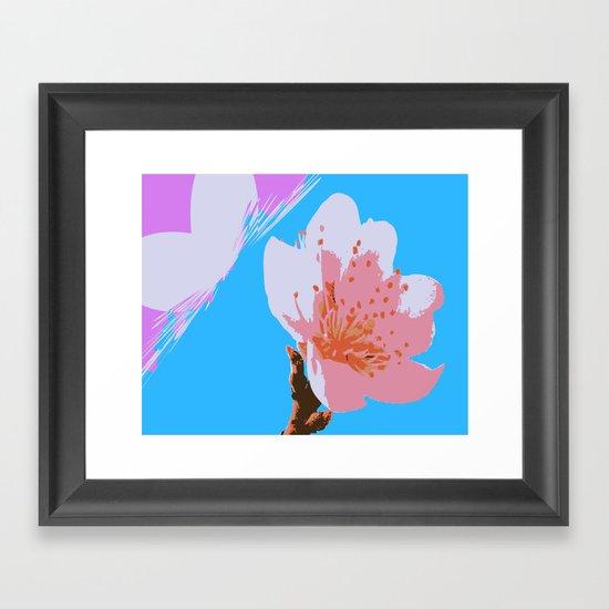 Blossoms: Four Framed Art Print