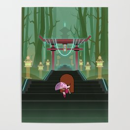 Stairway To The Temple Poster