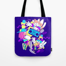 The Boys Are Back Dark Variant Tote Bag