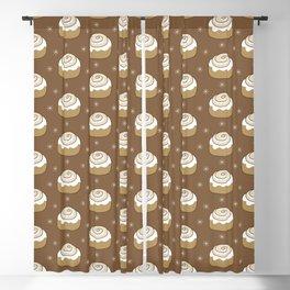 Cinnamon Bun Blackout Curtain