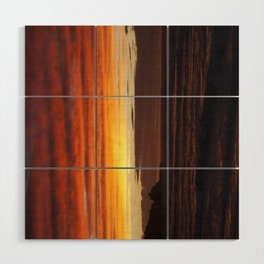When the sky turns Wood Wall Art