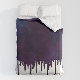 Painted Space Duvet Cover