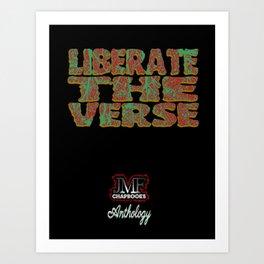 Liberate The Verse Art Print