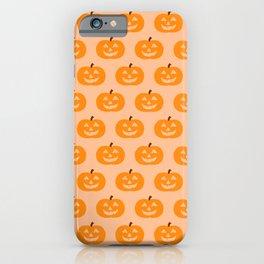 Cute Pumpkins iPhone Case