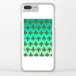 Weed Man Clear iPhone Case