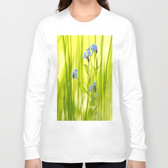 Lovely Morning Meadow Long Sleeve T-shirt