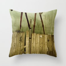 The Painted Horse Throw Pillow