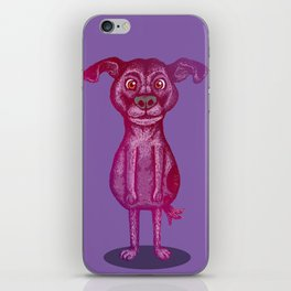 Courage the Cowardly Dog iPhone Skin