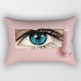The Eye of the Beholder Rectangular Pillow