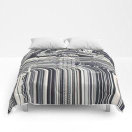 Eye Glitch Art Comforters