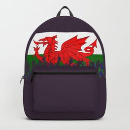 Welsh Flag with Audience Backpack