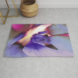 Spring Tulip Abstract Rug
