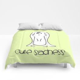 Cute Sadness Comforters