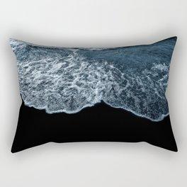Blue Wave | Classic Blue Rectangular Pillow