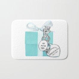 Blue Jewellry Box Bath Mat