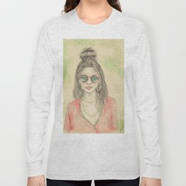 Insomnia colorized Long Sleeve T-shirt