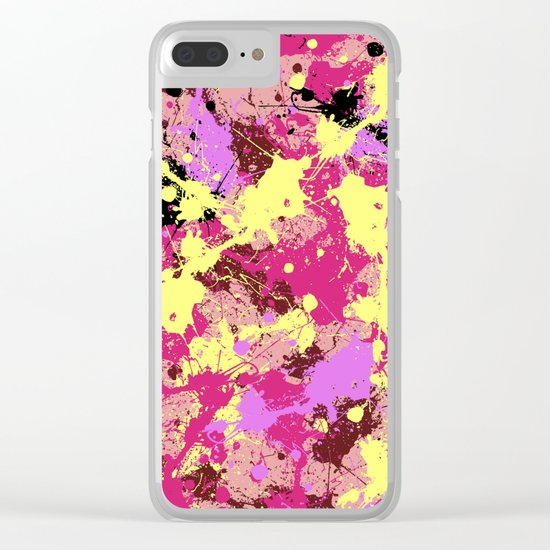 Abstract 21 Clear iPhone Case