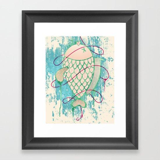 Corocoro Framed Art Print