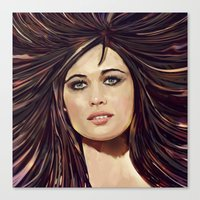 passion Canvas Prints featuring Passion by Balazs Pakozdi