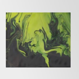 Photon Storm Throw Blanket
