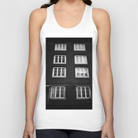norway Tank Tops featuring Facade in Trondheim, Norway by Archilse