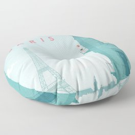 Paris Floor Pillow