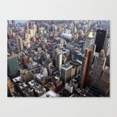 Big city, NYC Canvas Print