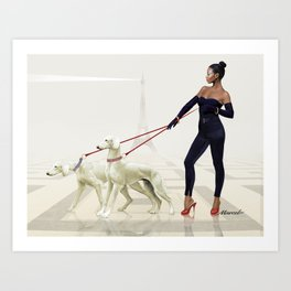 Black is very beautiful Art Print