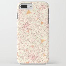 an abundance of triangular amoebas iPhone Case
