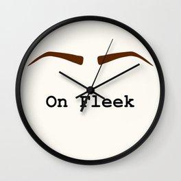 On Fleek Wall Clock