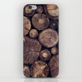 The Wood Holds Many Spirits // You Can Ask Them Now Edit iPhone Skin