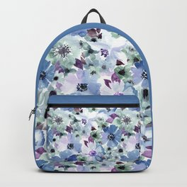 FLOWERS WATERCOLOR 20 Backpack