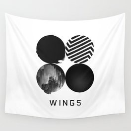 BTS Wings Album Cover Wall Tapestry