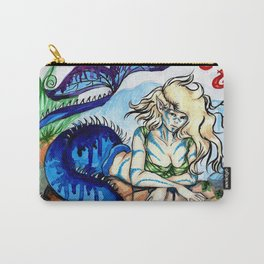 Resting Mermaid Carry-All Pouch
